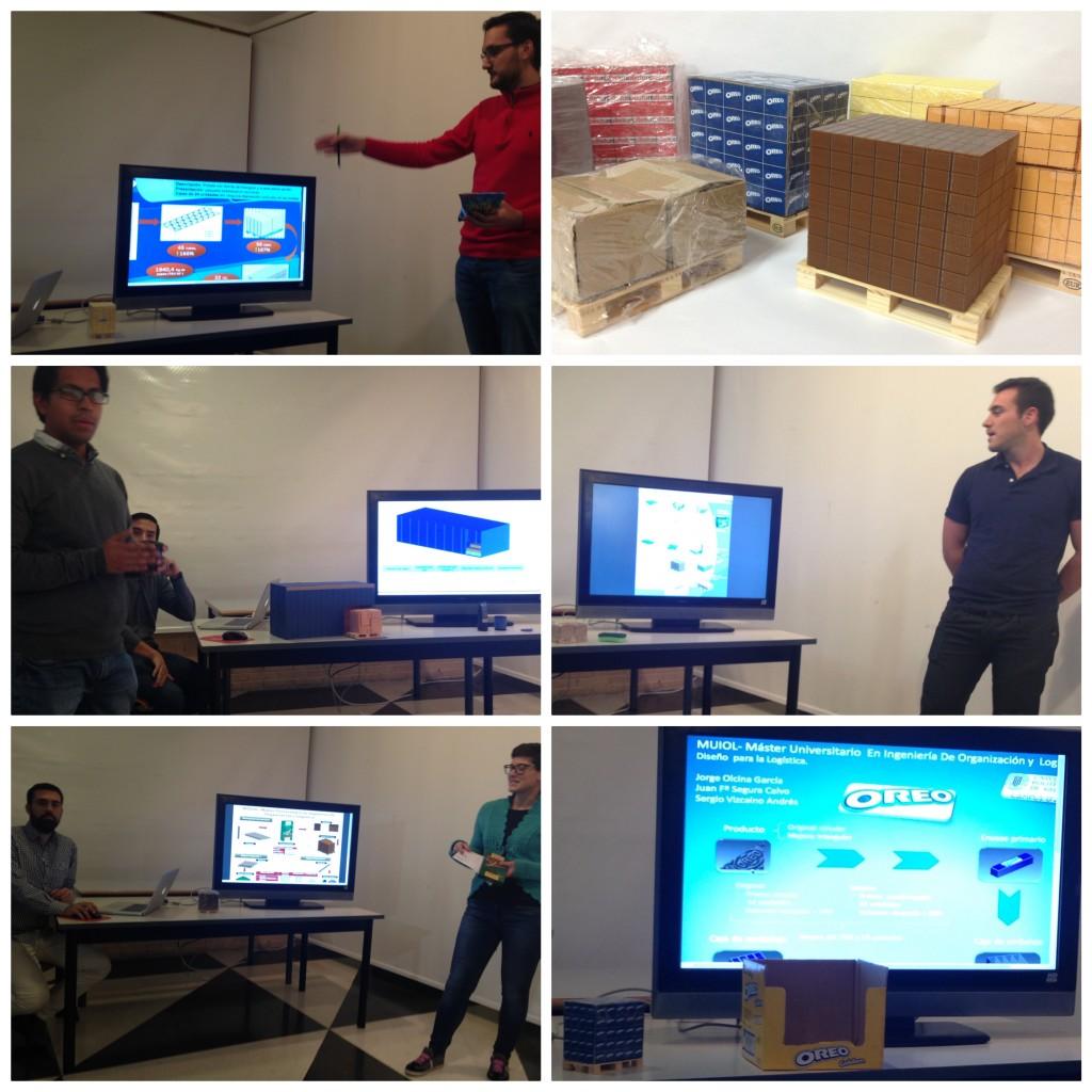 Los alumnos del MUIOL presentan los resultados de su práctica de Diseño para la Logística