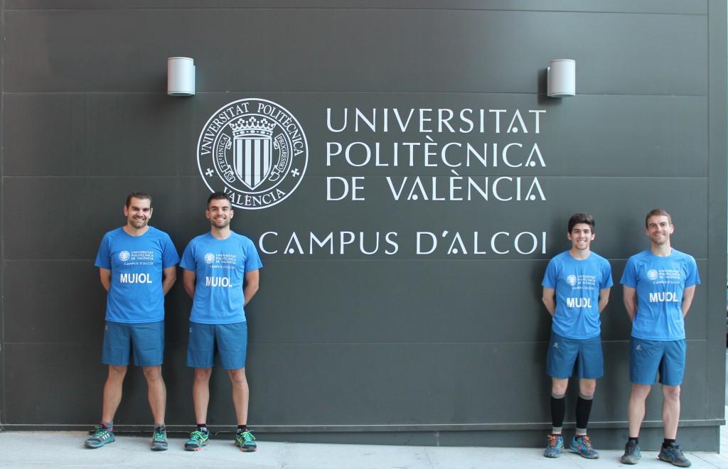 equipo MUIOL que participará en el 4 TRAIL solidari ciutat d'Alcoi