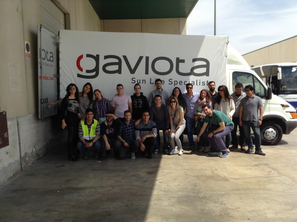 Los alumnos del MUIOL visitan Gaviota SIMBAC