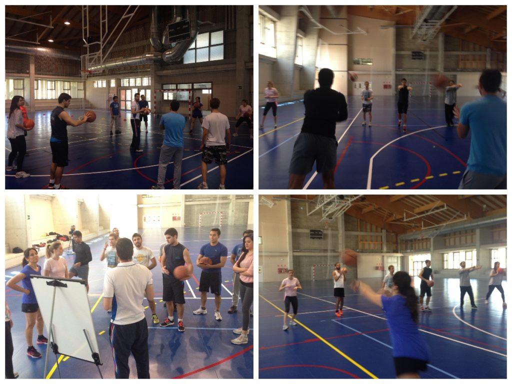 los alumnos del MUIOL aprenden kaizen mientras juegan al basket