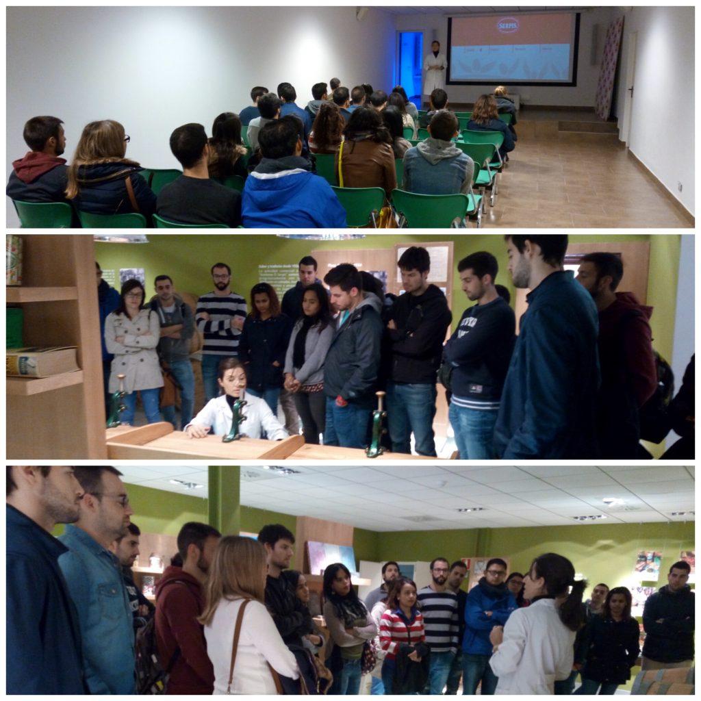 Los alumnos del MUIOL aprendiendo en las empresas que visitamos