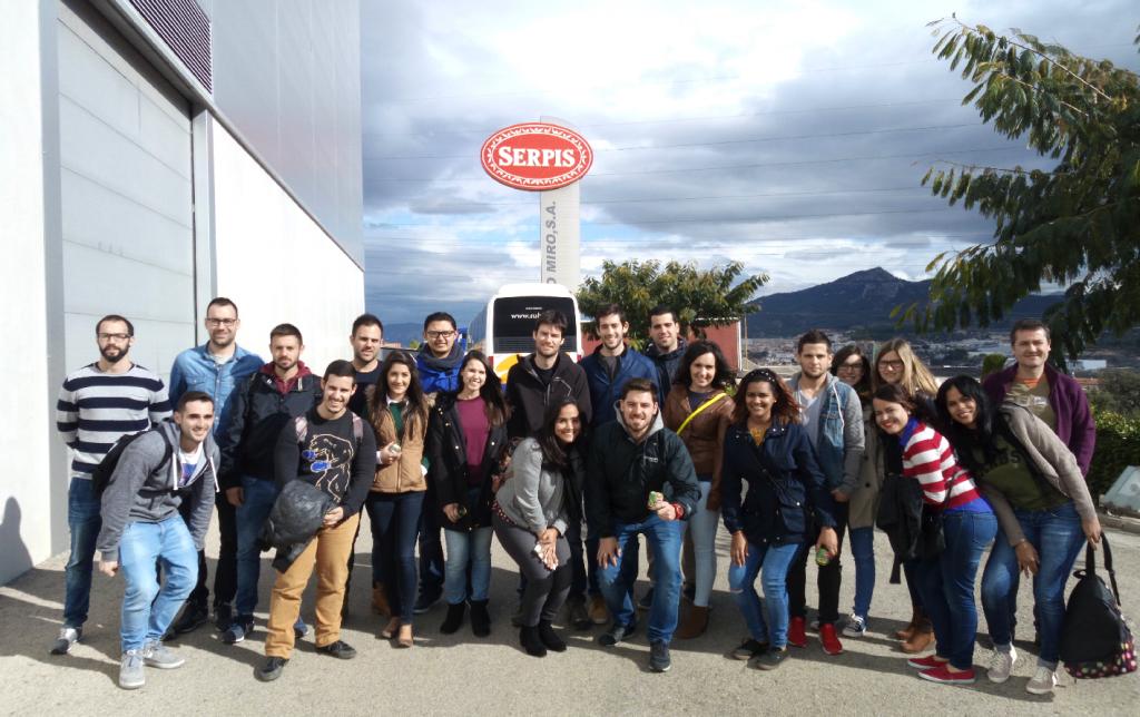 Los alumnos del MUIOL visitan la empresa Cándido Miró