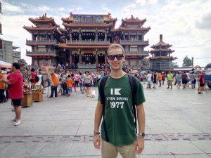 Jorge Blanco alumno del MUIOL en Taiwan