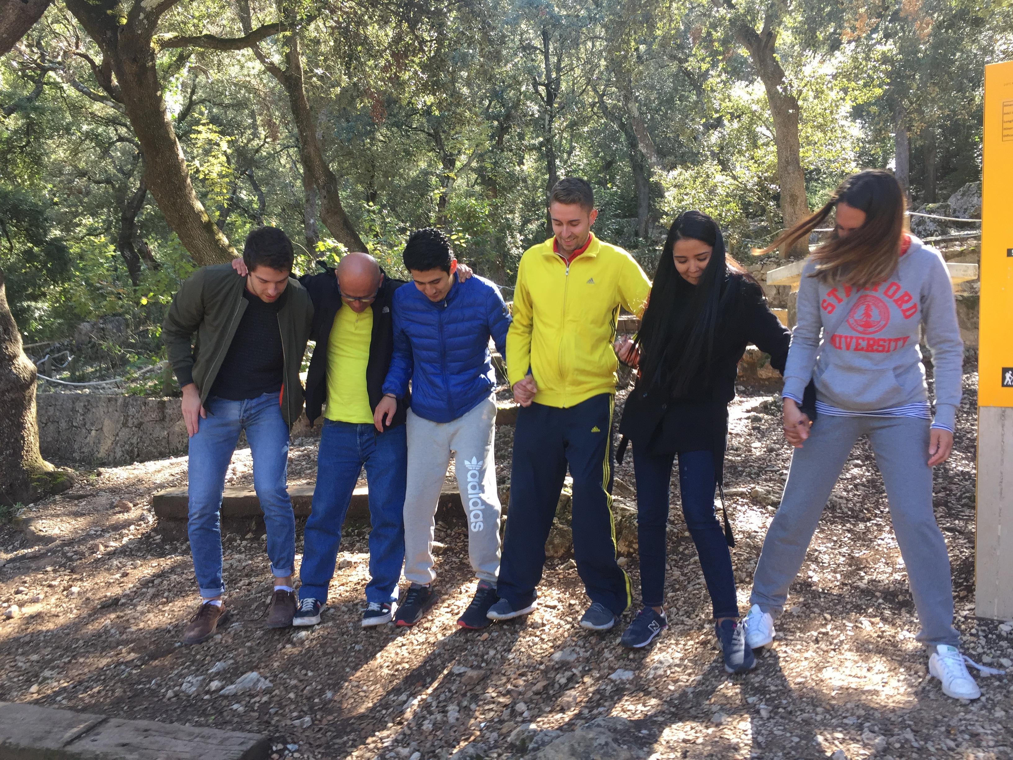 Nuestros alumnos del MUIOL aprenden gestión de recursos humanos en el parque natural