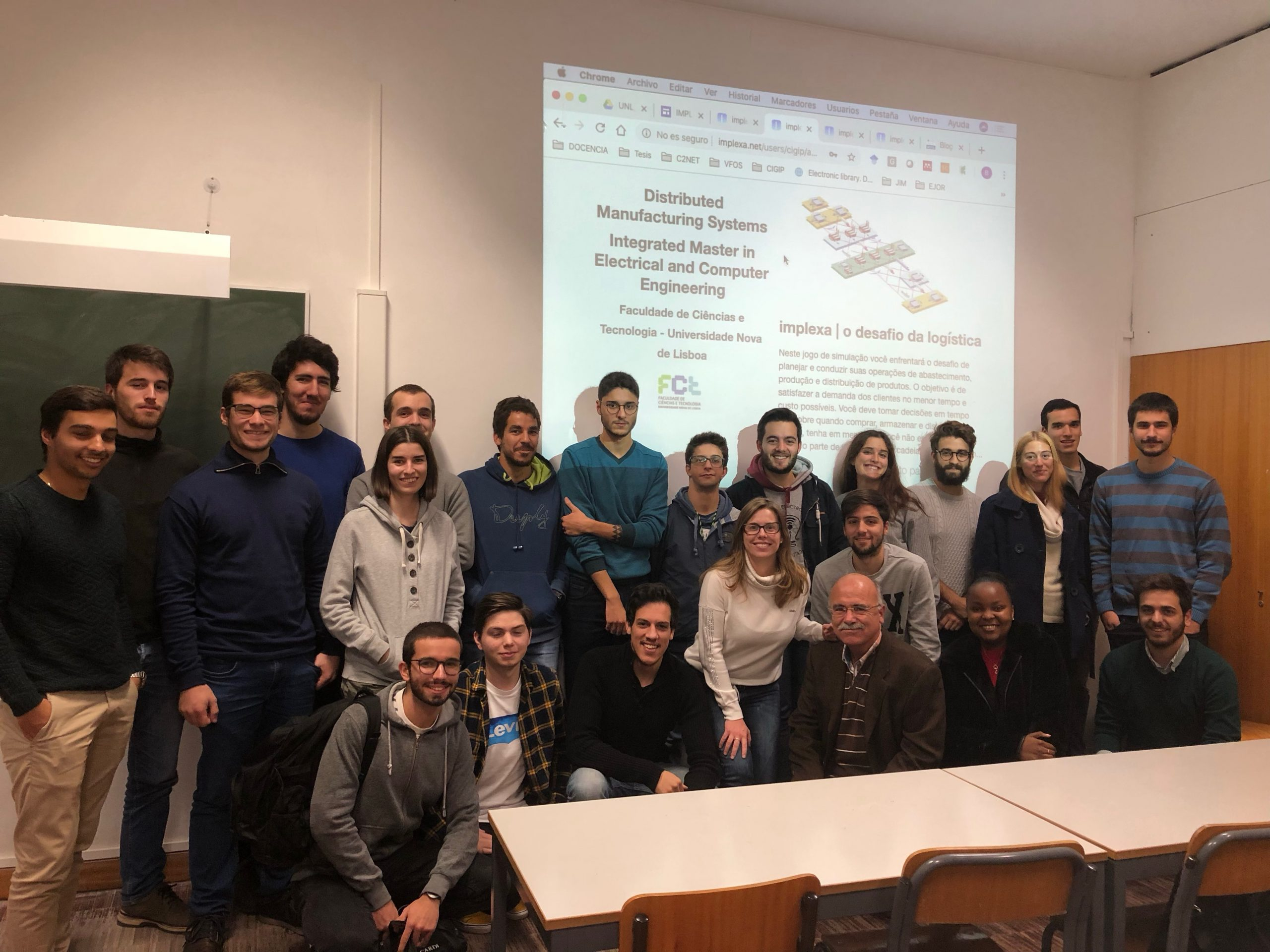 implexa viaja a la Universidade Nova de Lisboa