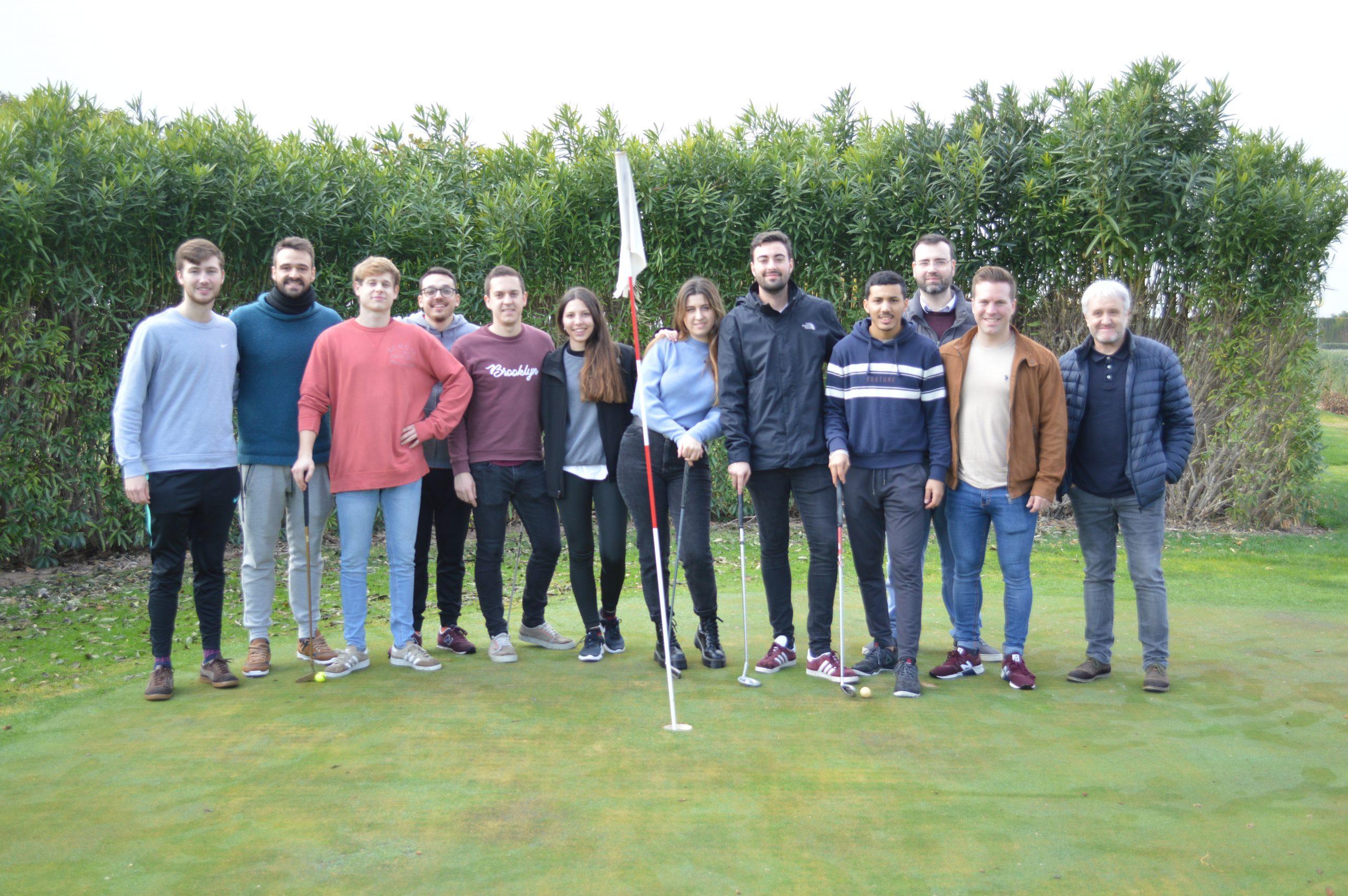 Desarrollo de habilidades directivas a través del golf